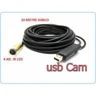 Su Altı Yılan Kamera 10-20 Metre
